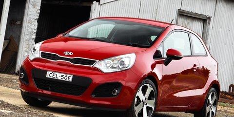 Kia Rio three-door hatch, four-door sedan launched