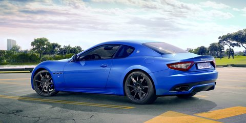 2013 Maserati GranTurismo Sport for Australia in late 2012