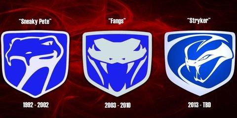 New SRT Viper snake logo revealed