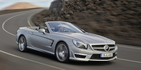 Mercedes-Benz SL63 AMG: racey roadster revealed