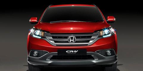 Honda CR-V European prototype previews new SUV