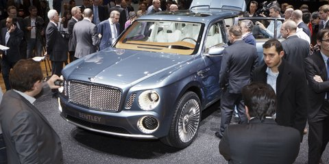 Bentley SUV: Experimental concept to evolve for production