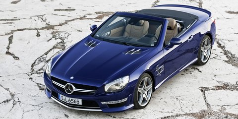 Mercedes-Benz SL65 AMG: lighter, faster V12 roadster unveiled