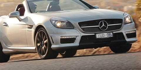 Mercedes-Benz SLK55 AMG launched