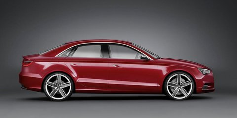 Audi A3 sedan confirmed