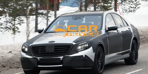 Mercedes-Benz S-Class spy shots