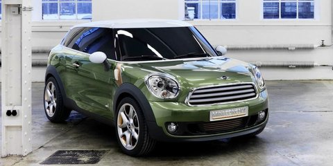Mini Paceman coming here in 2013