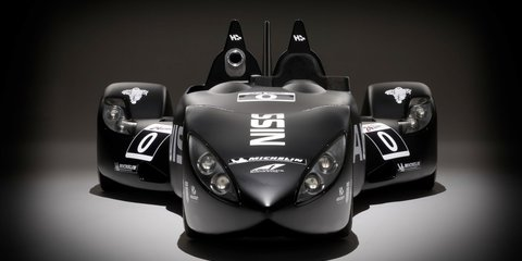 Nissan DeltaWing Le Mans racer revealed