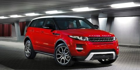 range rover evoque to be produced around the clock photos caradvice. Black Bedroom Furniture Sets. Home Design Ideas