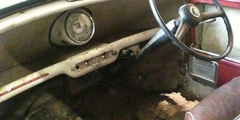 1959 Austin Mini Se7en De Luxe Saloon: untouched and up for grabs