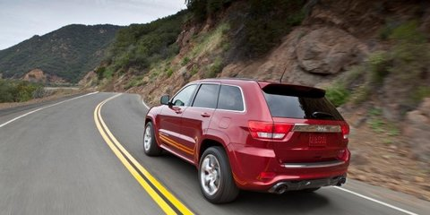 Jeep Grand Cherokee SRT8 in high demand