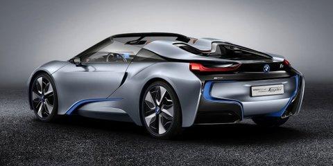 BMW i8 Spyder revealed