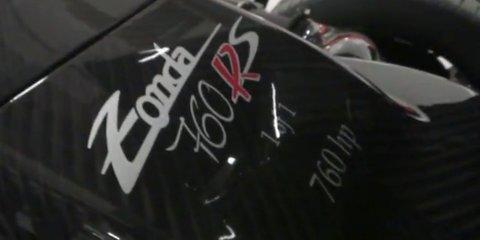Pagani Zonda 760RS: Lewis Hamilton orders most powerful Zonda