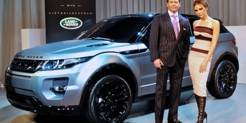 Range Rover Evoque: Victoria Beckham special edition launched