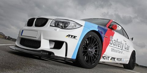 BMW 1 M RS: race car looks for the street