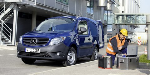 Mercedes-Benz Citan ruled out for Australia