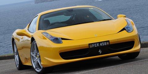 Ferrari 458 and California recall negligible for Australia