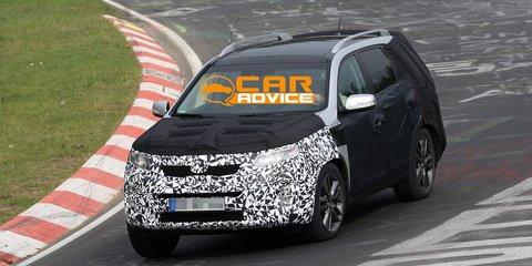 Kia Sorento: new platform, tweaked styling for large SUV