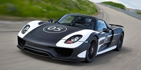 Porsche 918 Spyder: plug-in supercar takes shape