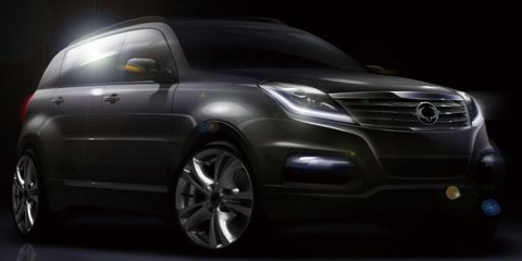 Ssangyong Rexton: sketches reveal sharper new design