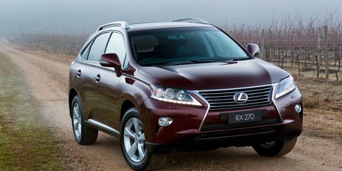 Lexus RX270: Australia's new entry-level luxury SUV