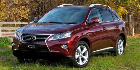 Lexus RX270 Review