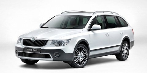 Skoda Superb Wagon gets 'Outdoor' treatment
