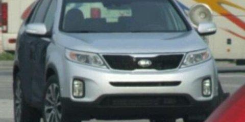 2013 Kia Sorento facelift uncovered