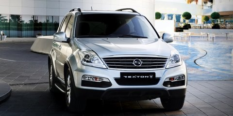 Ssangyong Rexton: facelift for Korean seven-seater