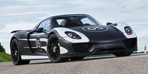 Porsche 918 Spyder: hybrid supercar gets track pack