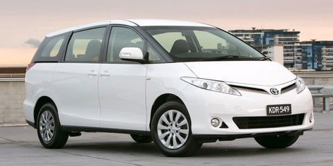 Toyota Tarago gets new gearbox, new prices