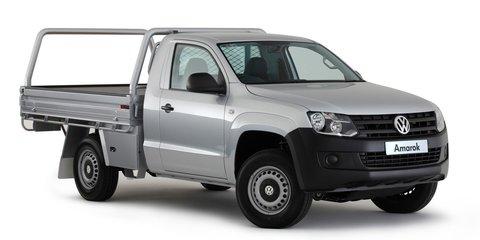 Volkswagen Amarok: 8-speed auto and single-cab join ute range