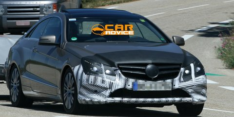 Mercedes-Benz E-Class Coupe: first look at new two-door