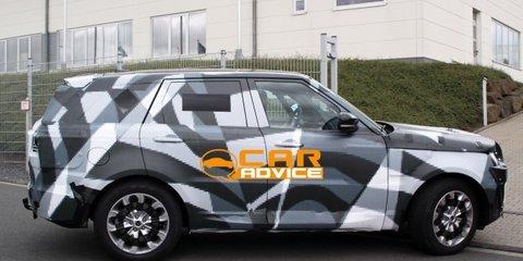 Range Rover Sport: Volvo camo hides new luxury British SUV