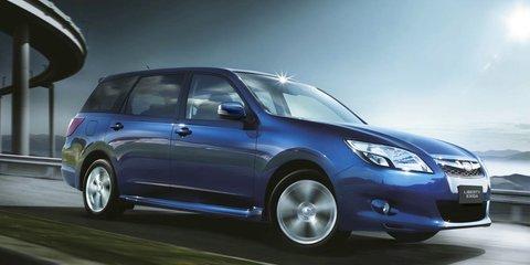 Subaru Liberty Exiga: seventh seat now standard