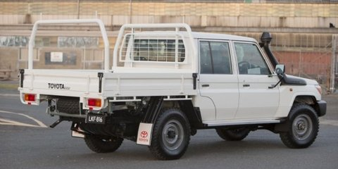 Toyota LandCruiser 70-Series double-cab confirmed