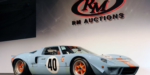 1968 Ford GT40 sets auction record with US$11m purchase price