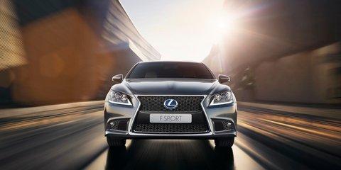 Lexus LS600h F Sport: flagship sports hybrid confirmed for Australia