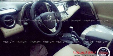 Toyota RAV4 SUV: 2013 model spied, interior revealed