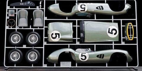 Aston Martin DBR1 Le Mans winner immortalised as life-sized DIY model