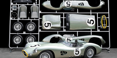 Aston Martin DBR1 Model Replica - 2