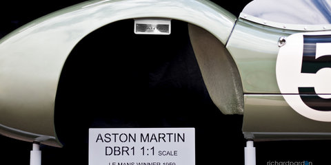 Aston Martin DBR1 Model Replica - 4