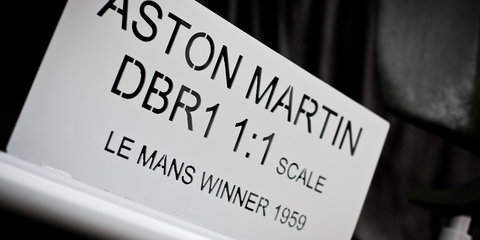 Aston Martin DBR1 Model Replica - 8