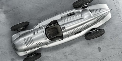 Auto Union Silver Arrow returns home after more than 60 years