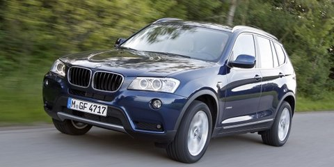 BMW X3 adds new two-wheel drive entry-level model