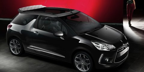 Citroen DS3 Cabrio: first official images of topless French hatch