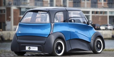 ECOmove Qbeak: electric car destined for city streets