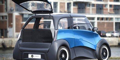 ECOmove Qbeak: electric car destined for city streets