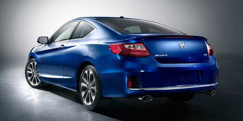 Honda Accord Coupe: first look at US-only two-door
