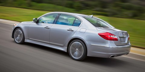 Hyundai's BMW 3 Series rival progresses